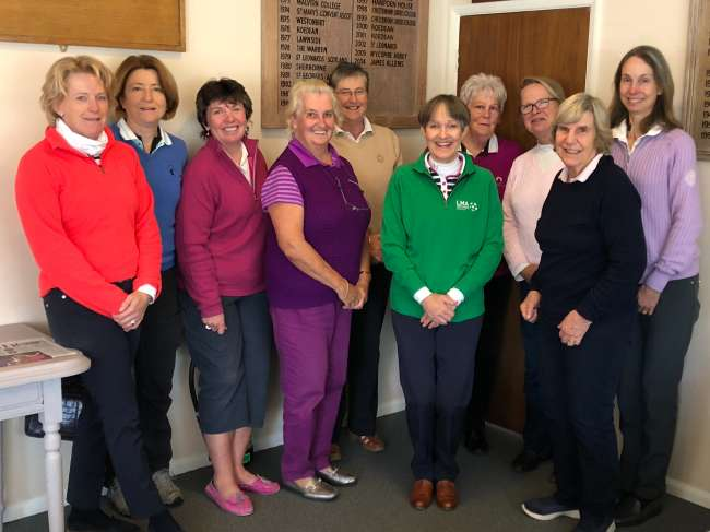 CLC Golf Society autumn meeting 2018