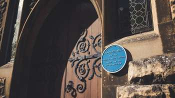 Beale Plaque in the sun 10