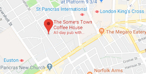 Somers Town Coffee House map